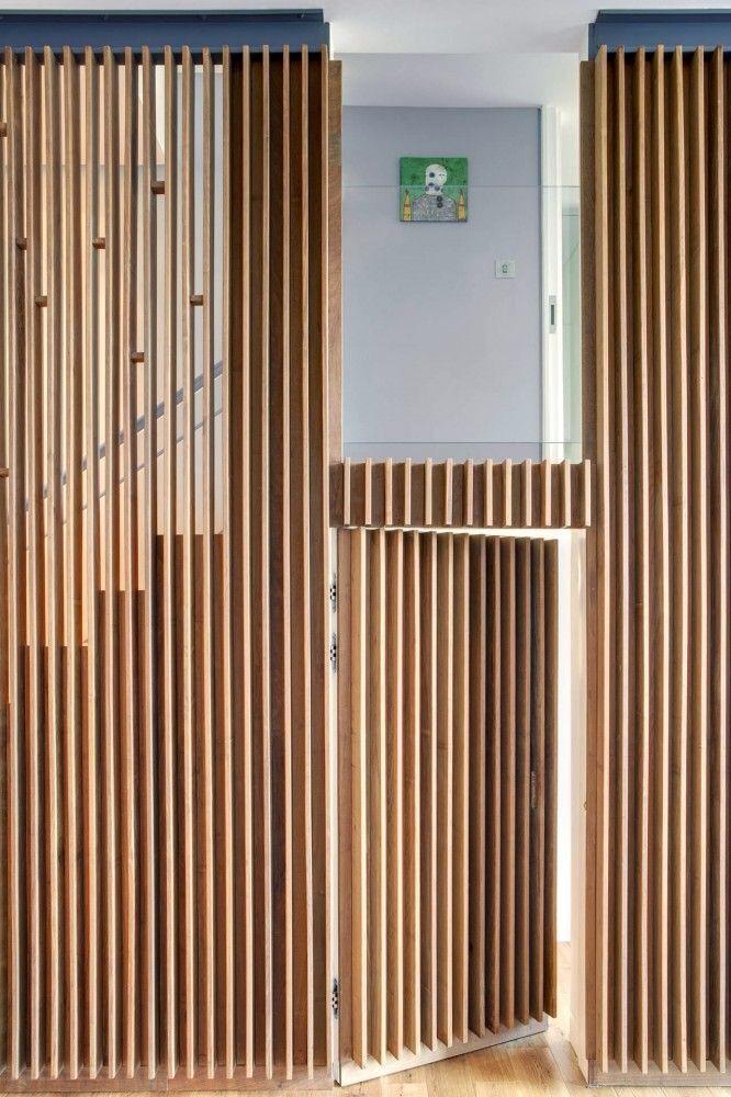 Apartment at Bow Quarter / Studio Verve Architects Doorswindows - muros divisorios de madera