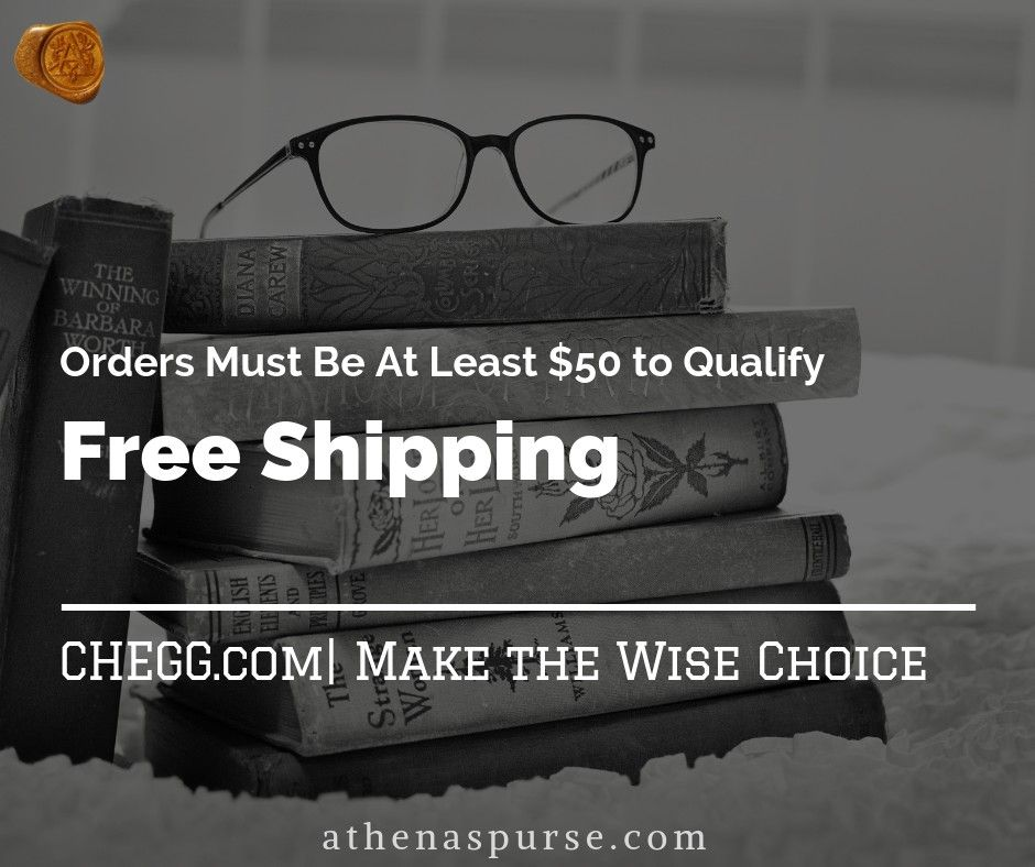 Save 90 on Chegg Textbooks & Get FREE Shipping + MORE