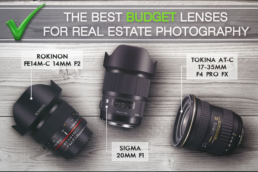 How to buy the best lens for real estate photography | Real