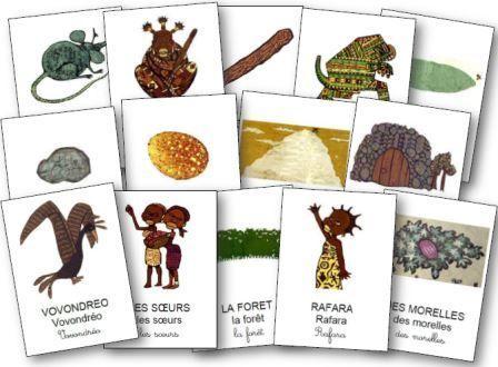 Rafara fiches d 39 exploitation et jeux pour travailler sur - Animaux afrique maternelle ...