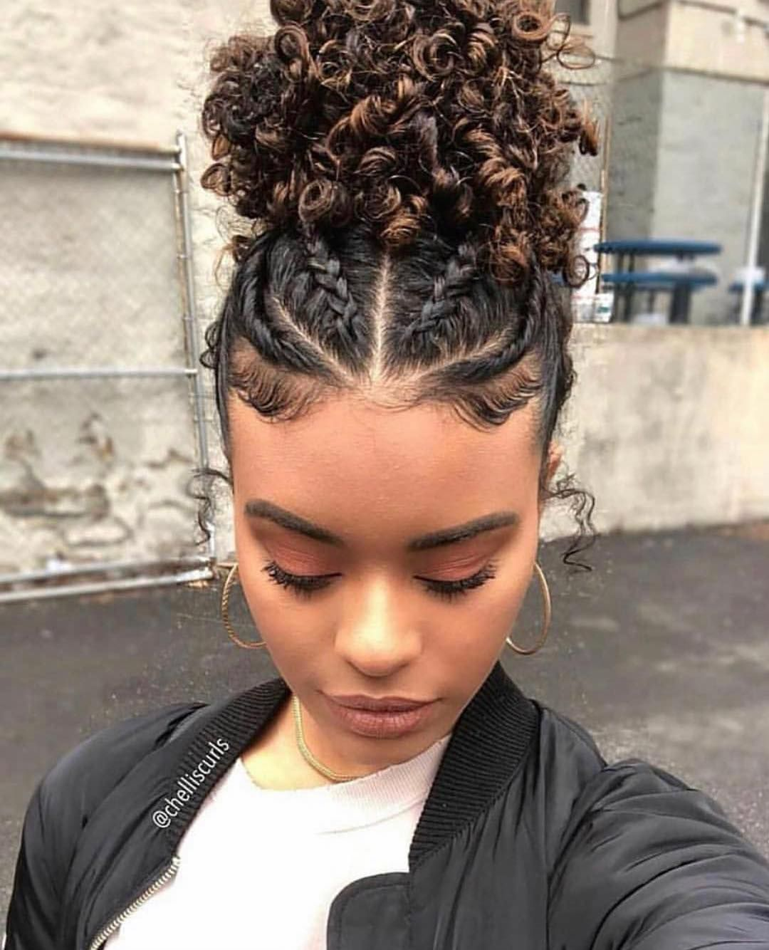 Mixed Is Beautiful On Instagram Would You Rock This Style Yes Or No Thenat Natural Hair Styles Hair Styles Curly Hair Styles Naturally