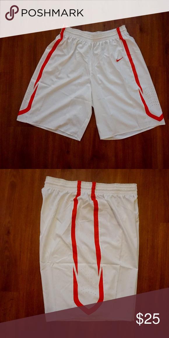 White Nike Hyper Elite Basketball Shorts Xl Bonus Basketball Shorts Elite Shorts White Nikes