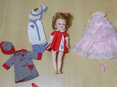 Vintage Miss Cindy or Penny Brite Doll Lot Clothing Shoes Hats
