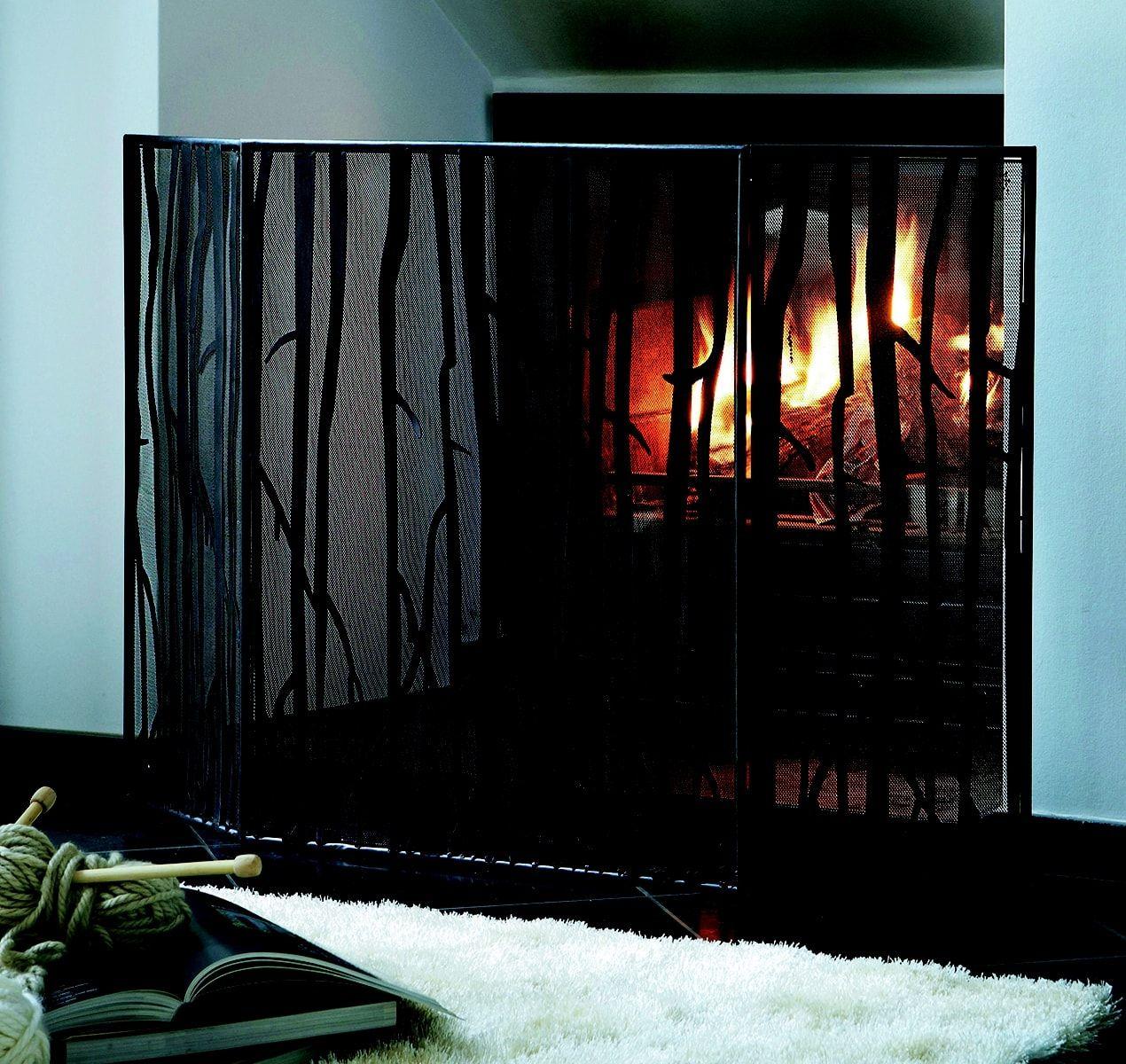 relooker sa chemin e miser sur un pare feu moderne salon pinterest salons. Black Bedroom Furniture Sets. Home Design Ideas