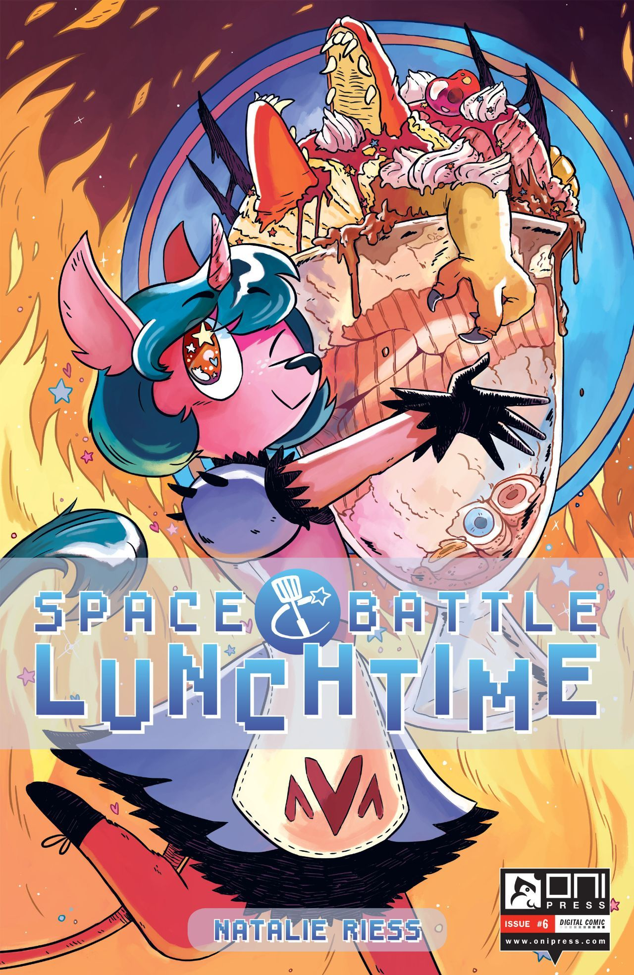 Space Battle Lunchtime #6 #OniPress @onipress