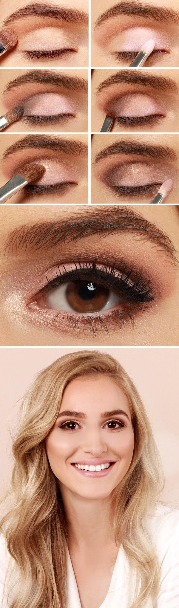 Maquillaje rosa para salir de la rutina eye makeup tutorials eye makeup tutorial baditri Images