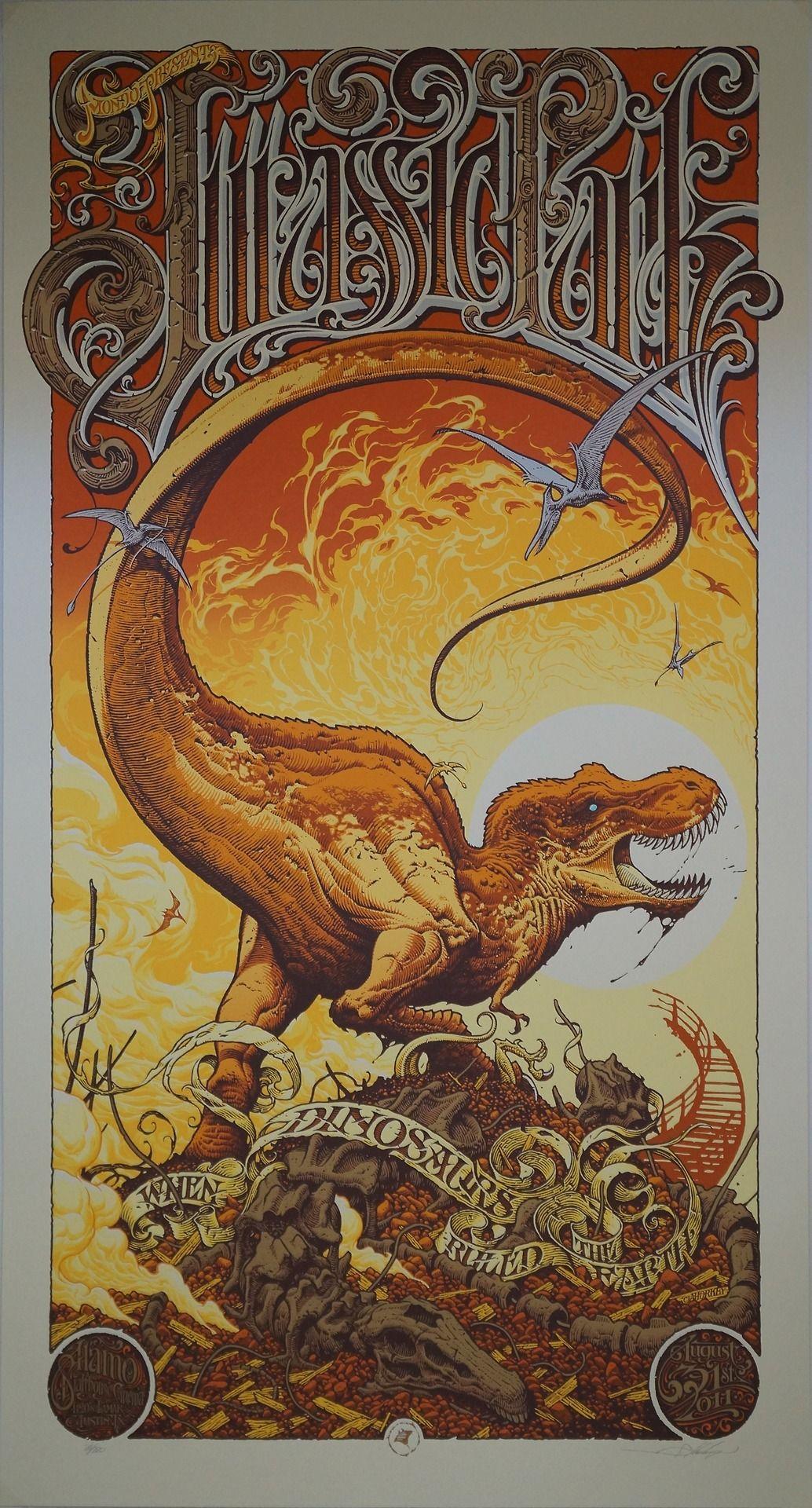 Jurassic Park Poster (Aaron Horkey)
