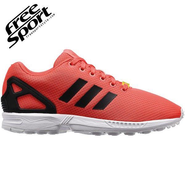 Adidas ZX FLUX Arancione Fluo Solar Red M22509 - Free Sport