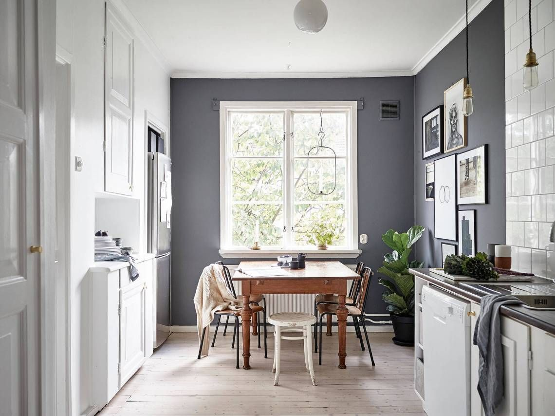 Kitchen in grey (COCO LAPINE DESIGN) | Kitchens, Gray and Kitchen dining