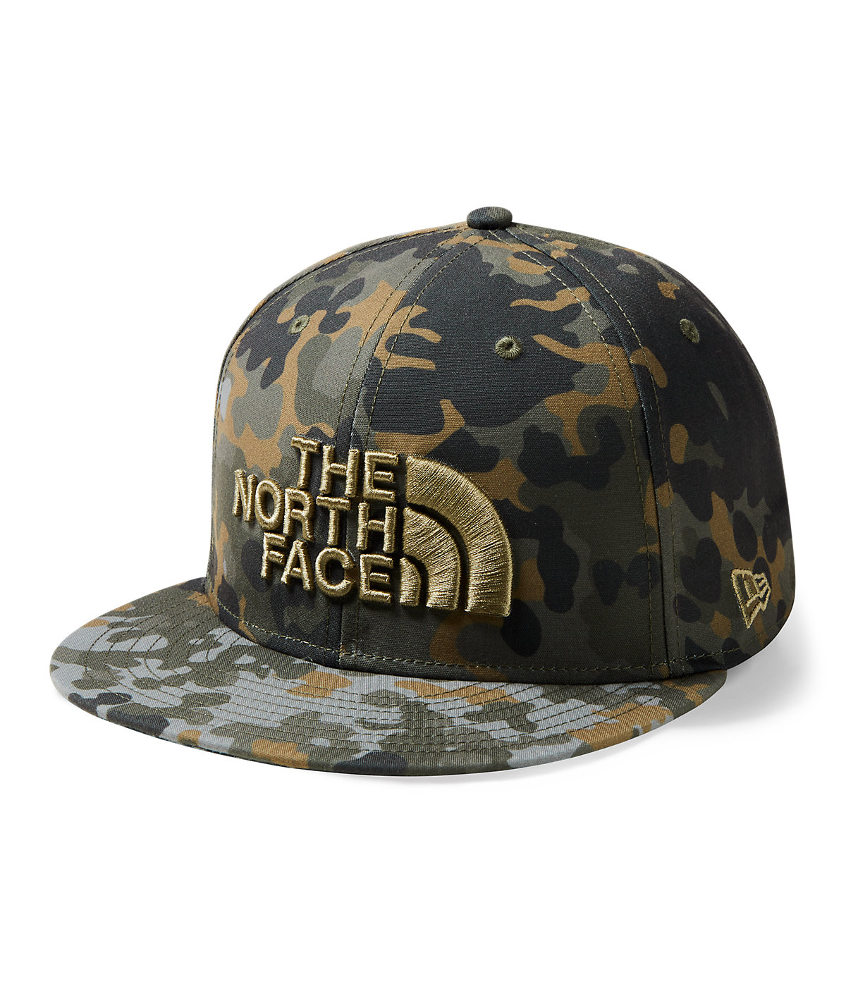 best sneakers b4282 3e351 The North Face Men s New ERA 59FIFTY Fitted Cap Newtaupegreenmacroflckprt