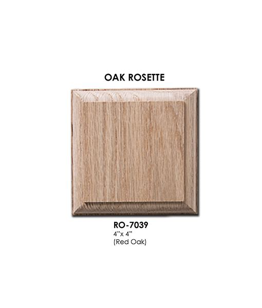 Best 7039 Square Wall Rosette Solid Wood Install Instructions 400 x 300