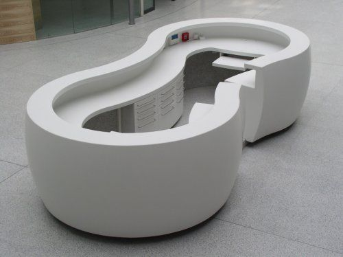 CORIAN®-1/Central Military Hospital Prague - central reception counter