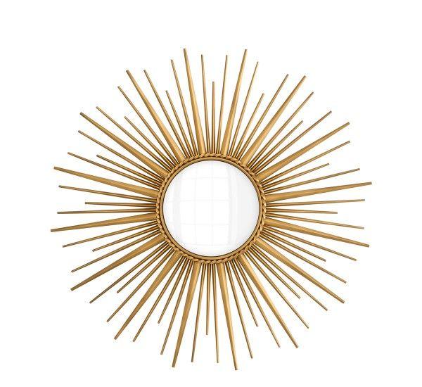 Antique Brass Sunburst Mirror Mirror Ideas