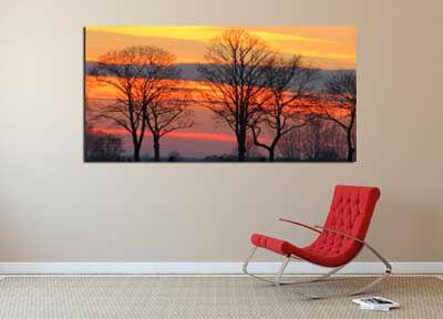 Hochwertiger Leinwanddruck - Leinwandbilder auf 2 cm oder 4 cm breiten Holzkeilrahmen bis zu einem Format von 200 × 200 cm