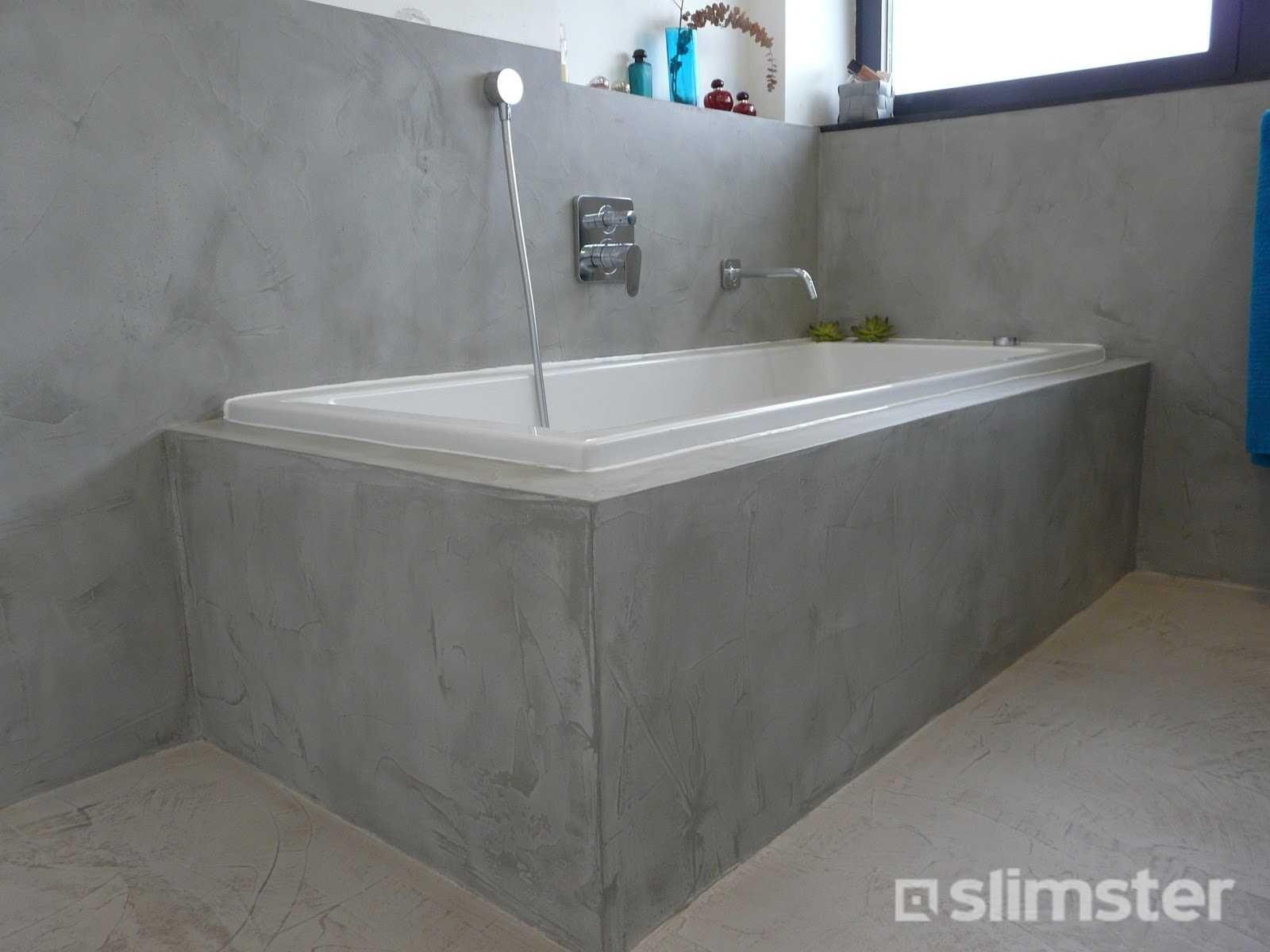 Verwonderlijk Kosten betonlook schilderen (met afbeeldingen) | Badkamer stucen BD-34