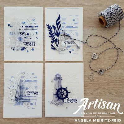 Angela Meiritz-Reid | STEMPELN SIE OBEN! CORPORATE BLOG - COME SAIL AWAY | Stampin' Up! #stampinup!cards
