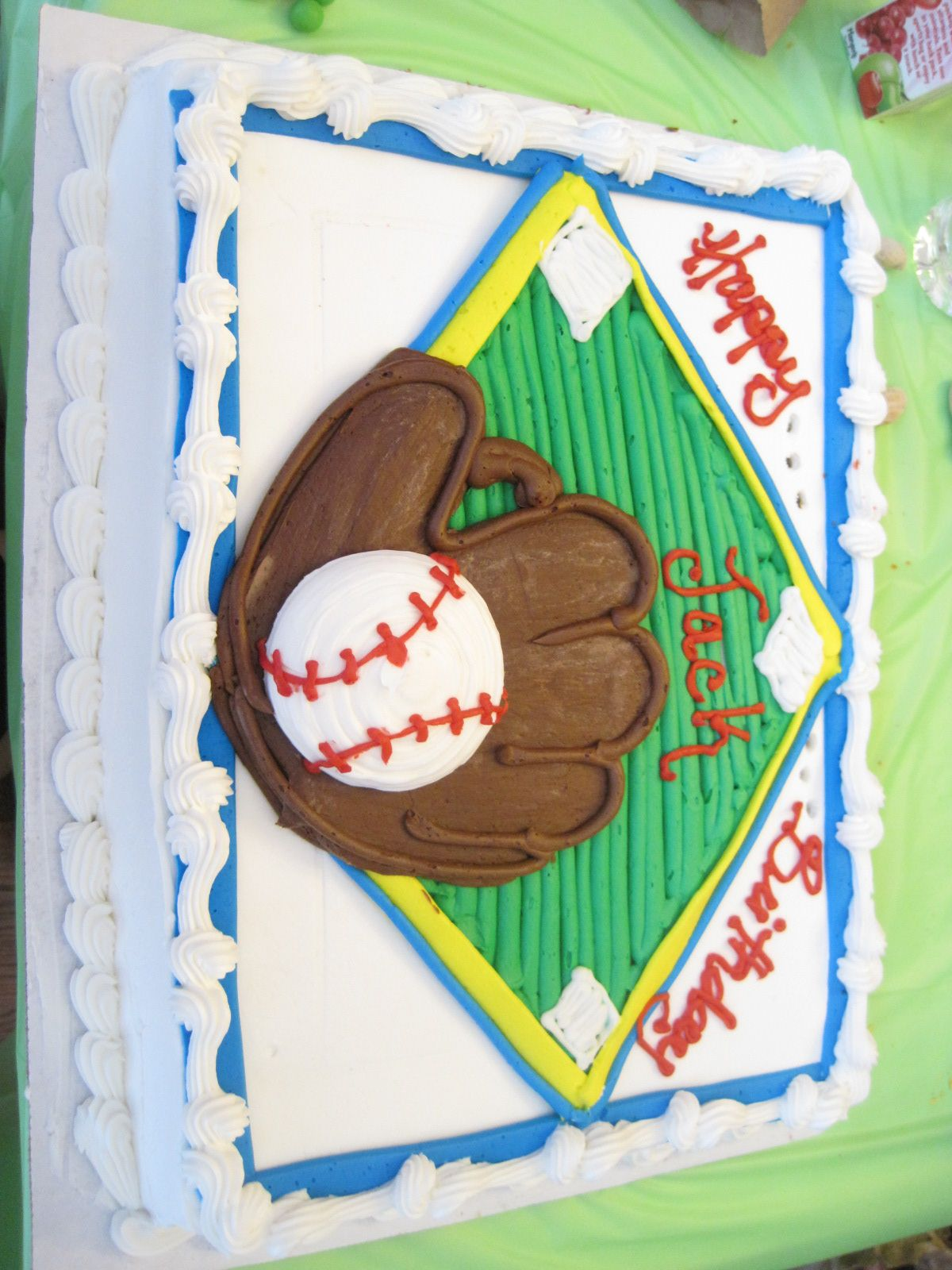 Image result for costco baseball cake (With images ...