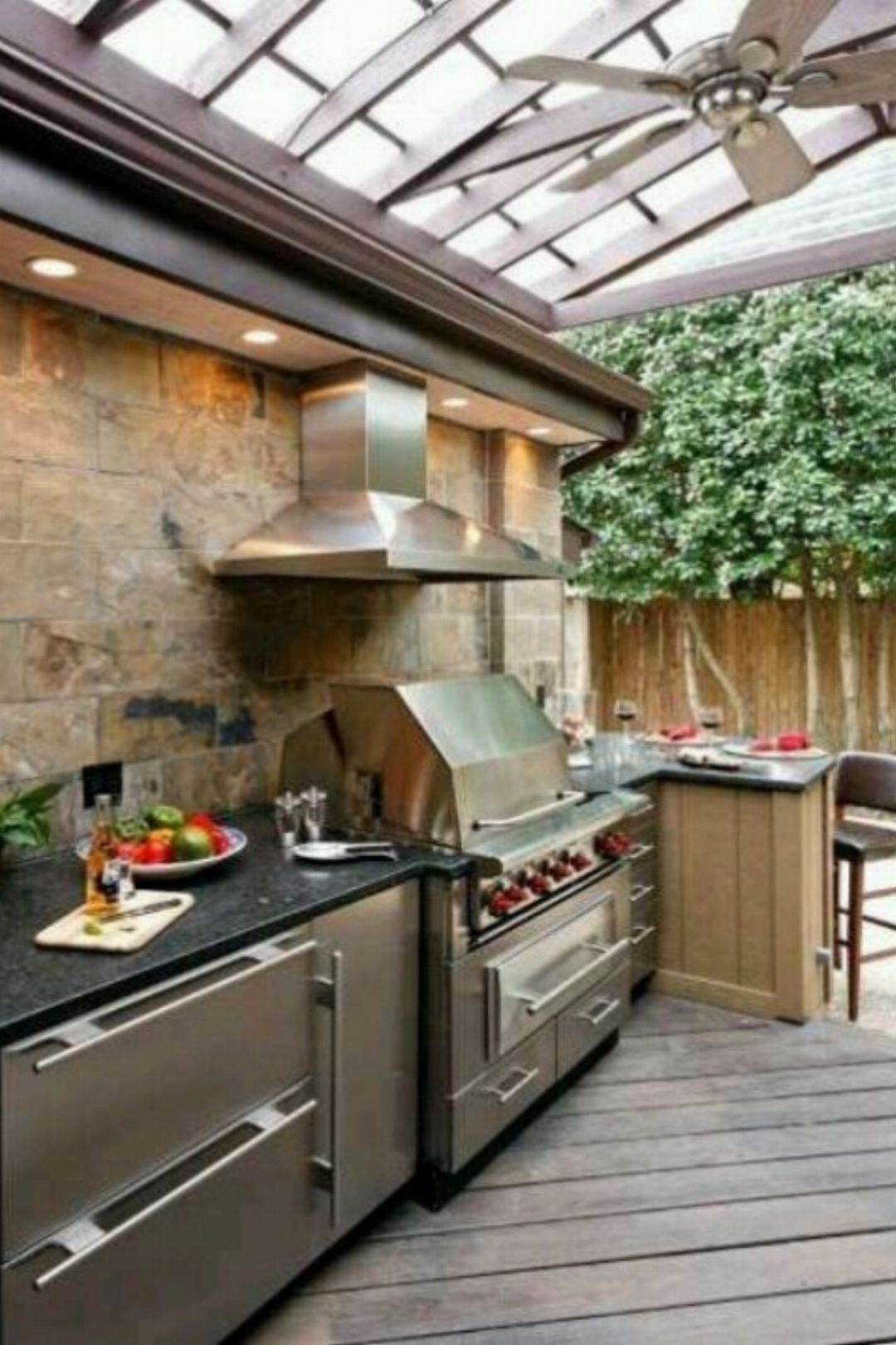 30 Gorgeous Outdoor Kitchens | outdoor living | Pinterest | Kitchens ...