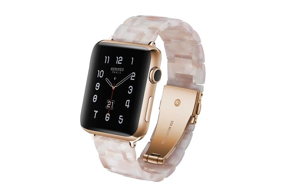 Ivory Tortoise Shell Bracelet Watch Band in 2020 Apple