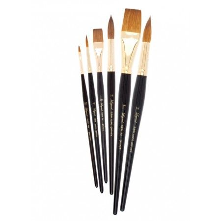 Cheap Joe S Legend Kolinsky Sable Watercolor Brushes Are Made Of