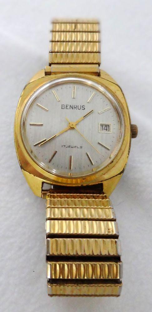 Vintage Benrus Watch 17 Jewels