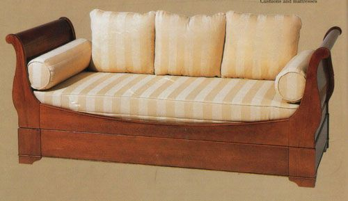 Sleigh Trundle Bed   Twin 1038 sleigh, trundle, bed, sofa