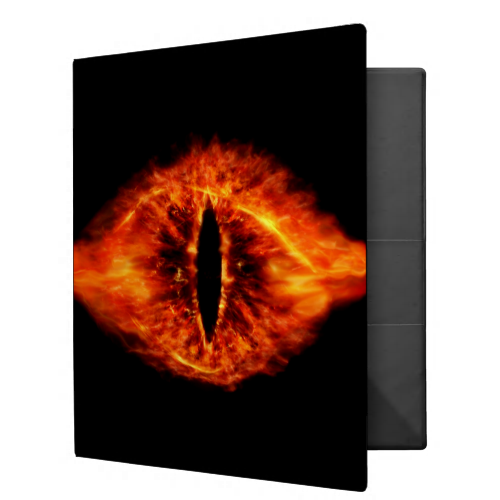 Eye Of Sauron 3 Ring Binder Zazzle Com In 2021 3 Ring Binders Lord Of The Rings Binder