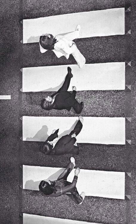 Abbey Road From Above Iphone 5 Wallpaper