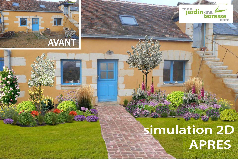 Aménager un jardin style cottage anglais | Jardin terrasse | Pinterest