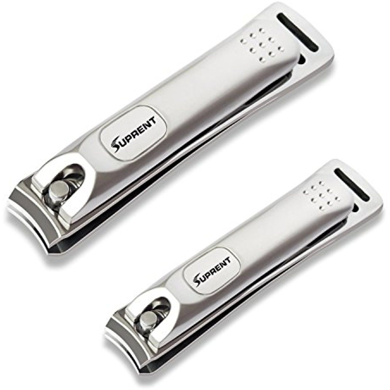 SUPRENT Fingernail and Toenail Clippers Set for Men and Women ...