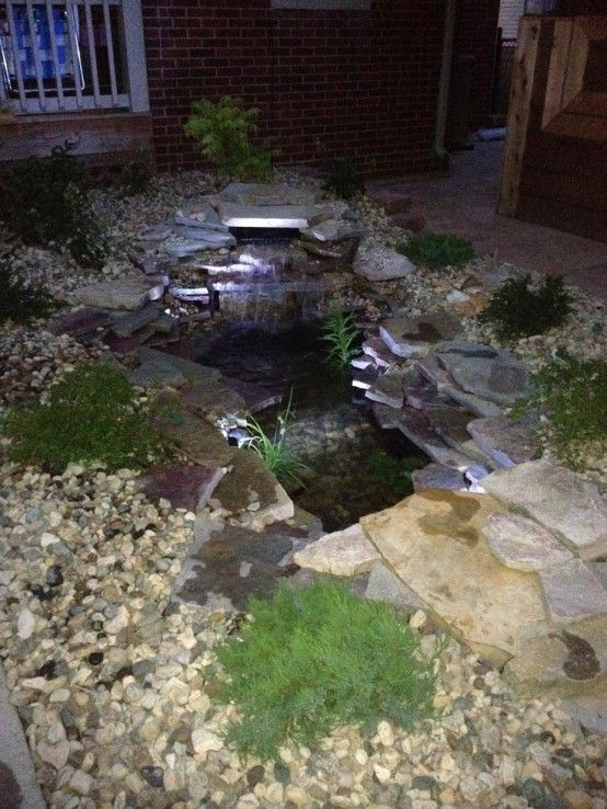 67 Cool Backyard Pond Design Ideas Backyard ponds Pinterest