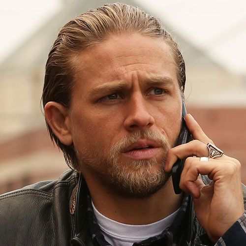 Jax Teller Hair How To Style A Slicked Back Hairstyle Charlie Hunnam Jax Teller Sons Of Anarchy Tara