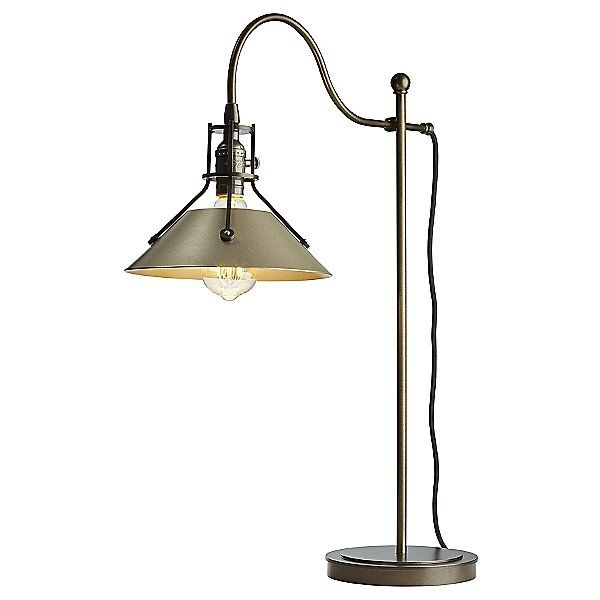 Hubbardton Forge Henry Table Lamp 272840 1137 Style Industrial Table Lamp Unique Lamps Tiffany Table Lamps