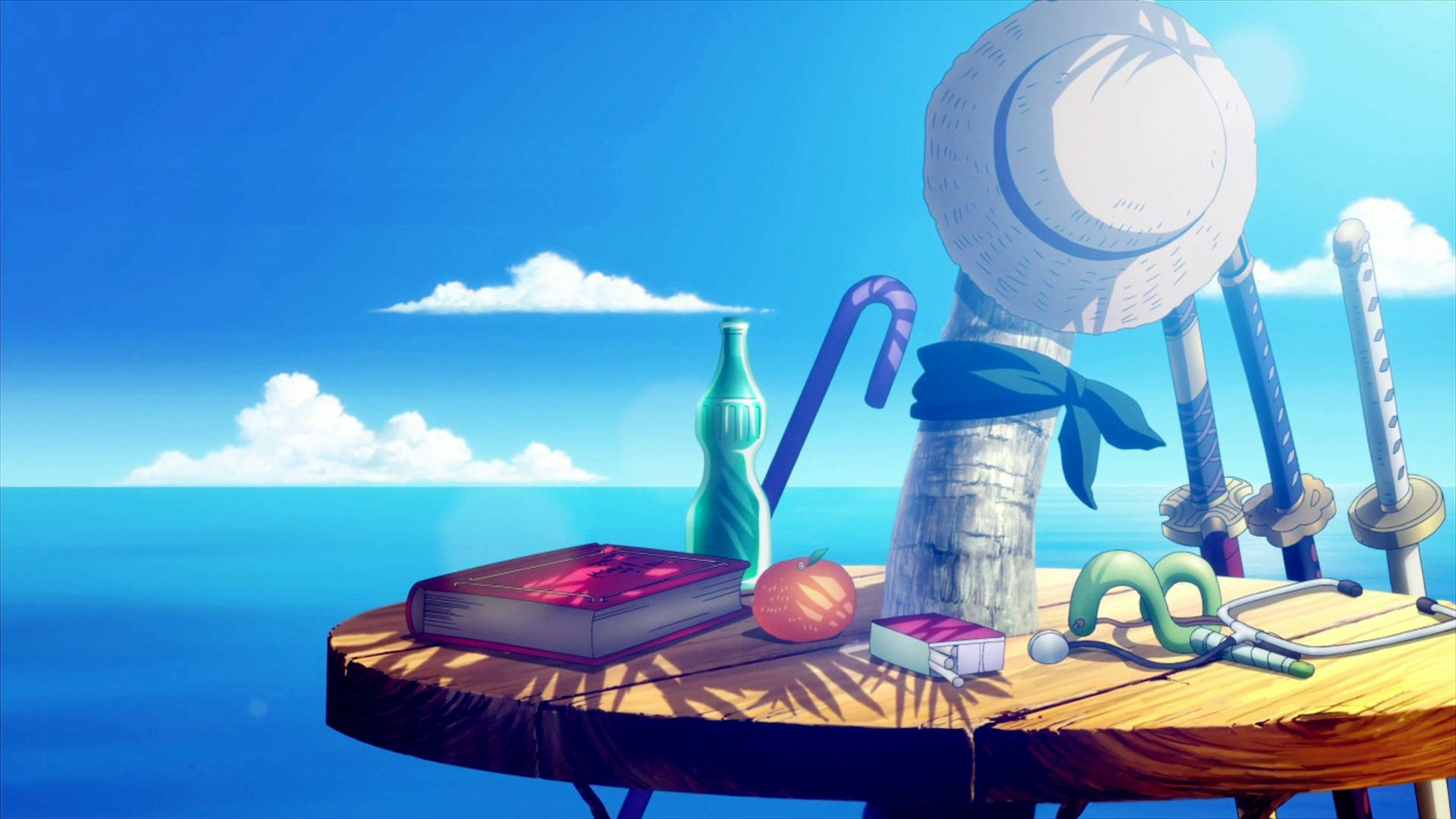 Strong World Wallpaper Credits Picture 1920x1080 One Piece