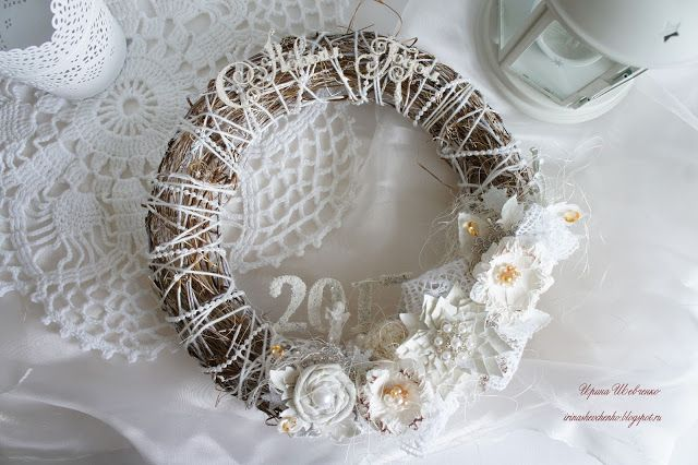 """Melody of creation: Christmas wreath for the 5 stage venture """"Under the magic of sounds"""""""