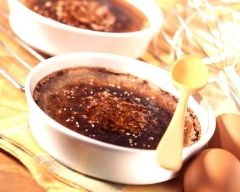 Chocolat façon crème brûlée