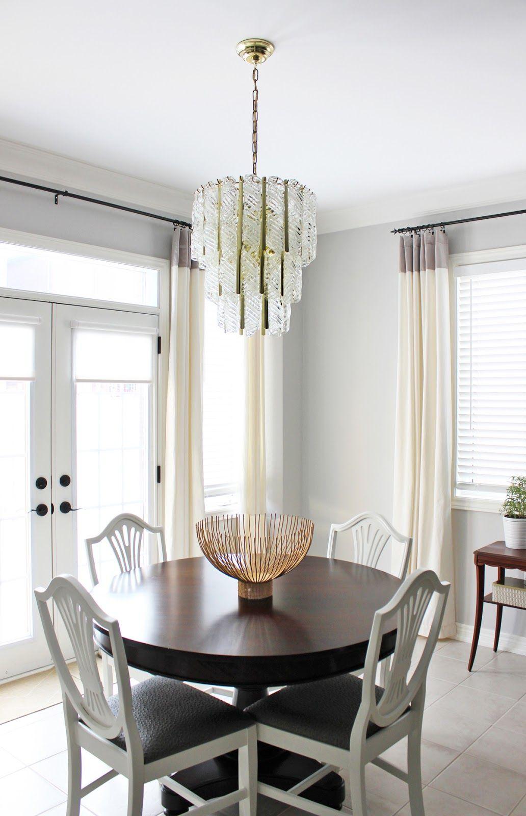Vintage Venini Murano Glass Chandelier Dining Room  Vintage Fascinating Glass Chandeliers For Dining Room Design Decoration