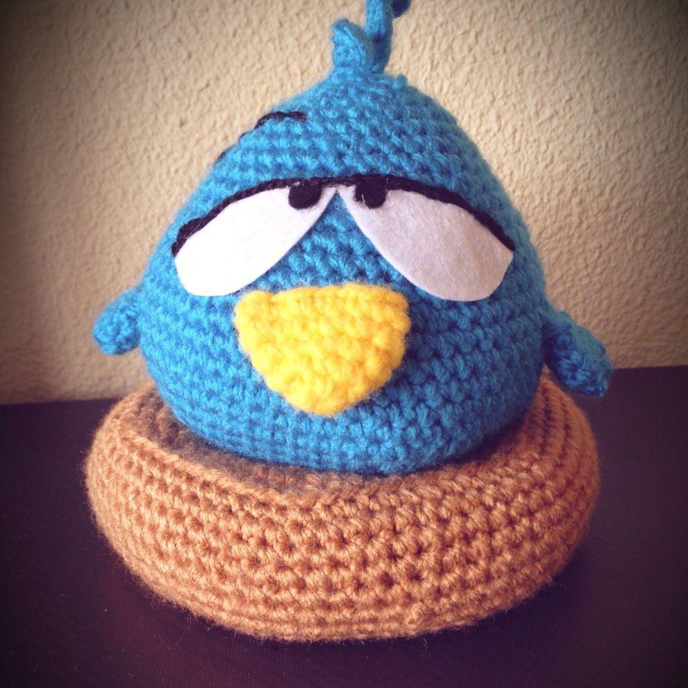 Pajaroto (Sleepy Bird from Pocoyo) | Ana en lana | Pinterest ...