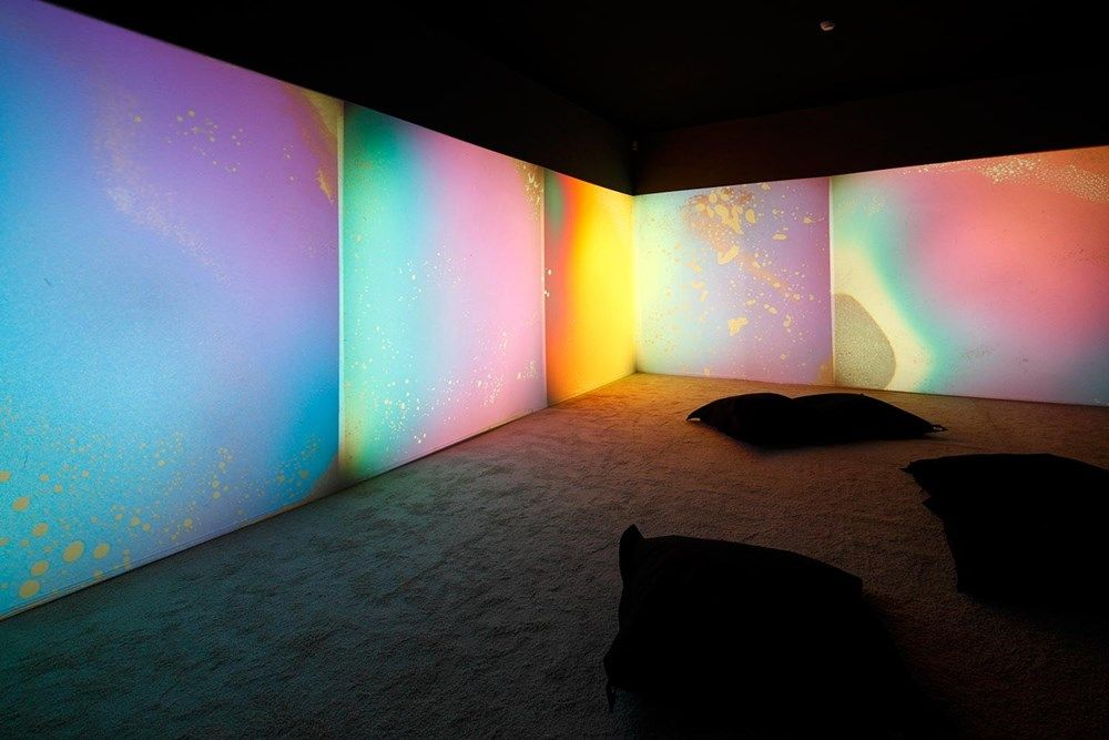 Gustav Metzger: We Must Become Idealists or Die #lightartinstallation