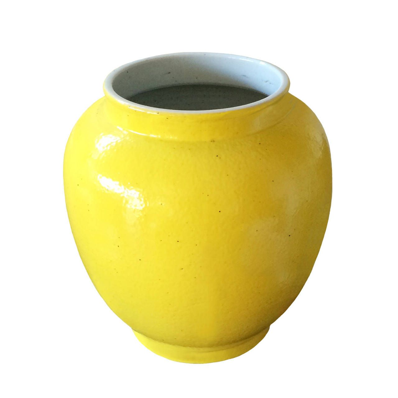 Chinese Porcelain Yellow Vase | From a unique collection of ...