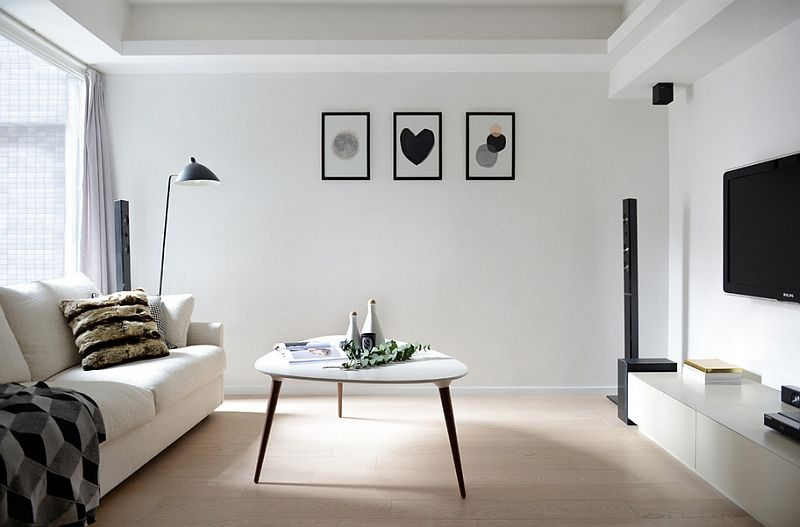 Black And White Living Rooms Design Ideas Minimalist Living Room Home Decor Home Decor Styles