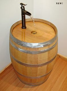 Link Is To A Website That Shows Tons Of Whiskey Barrel Uses If Only
