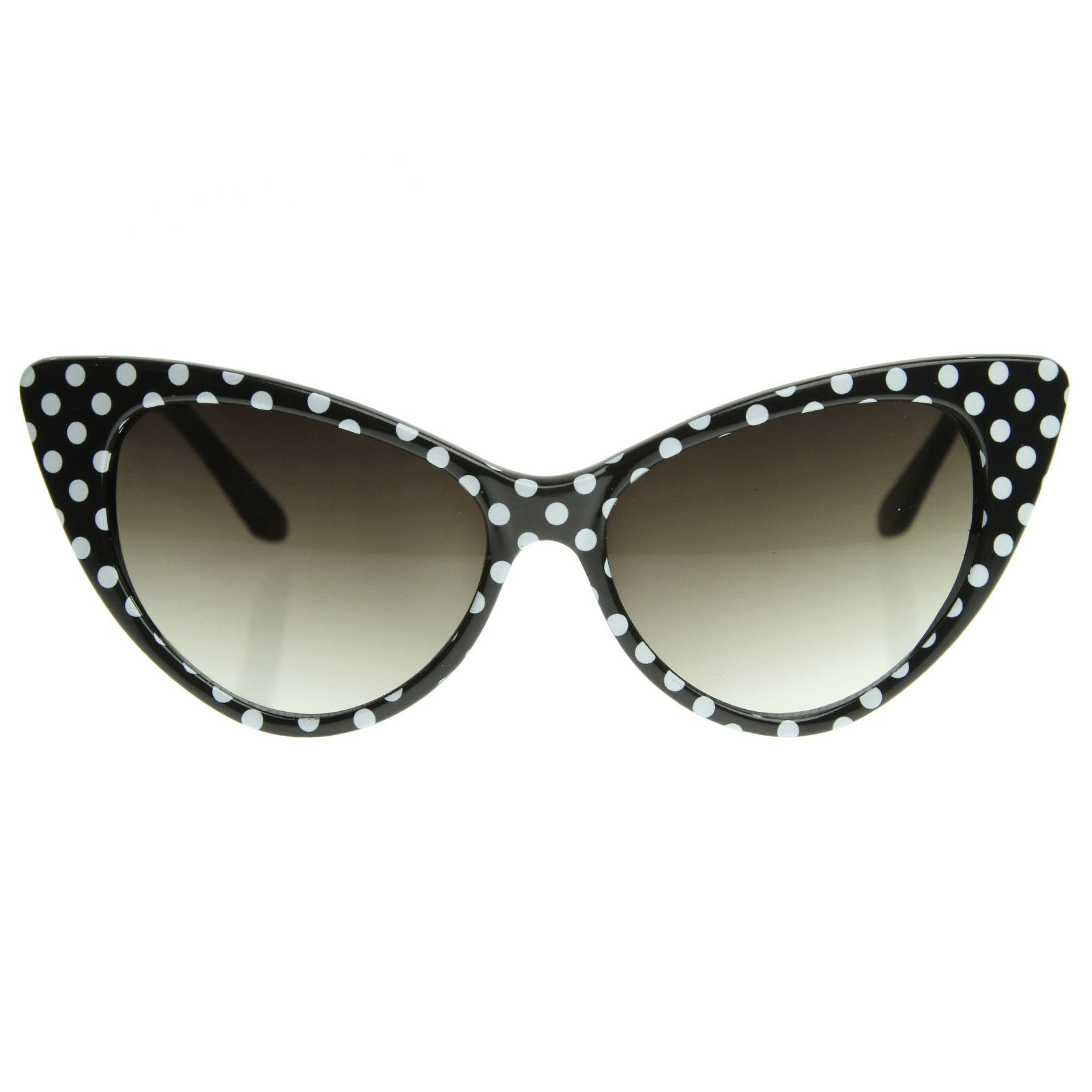 c78067991ddde Retro 1950 s Polka Dot Cat Eye Fashion Sunglasses 8498 from zeroUV --  pleaseeee I ant ♥♥