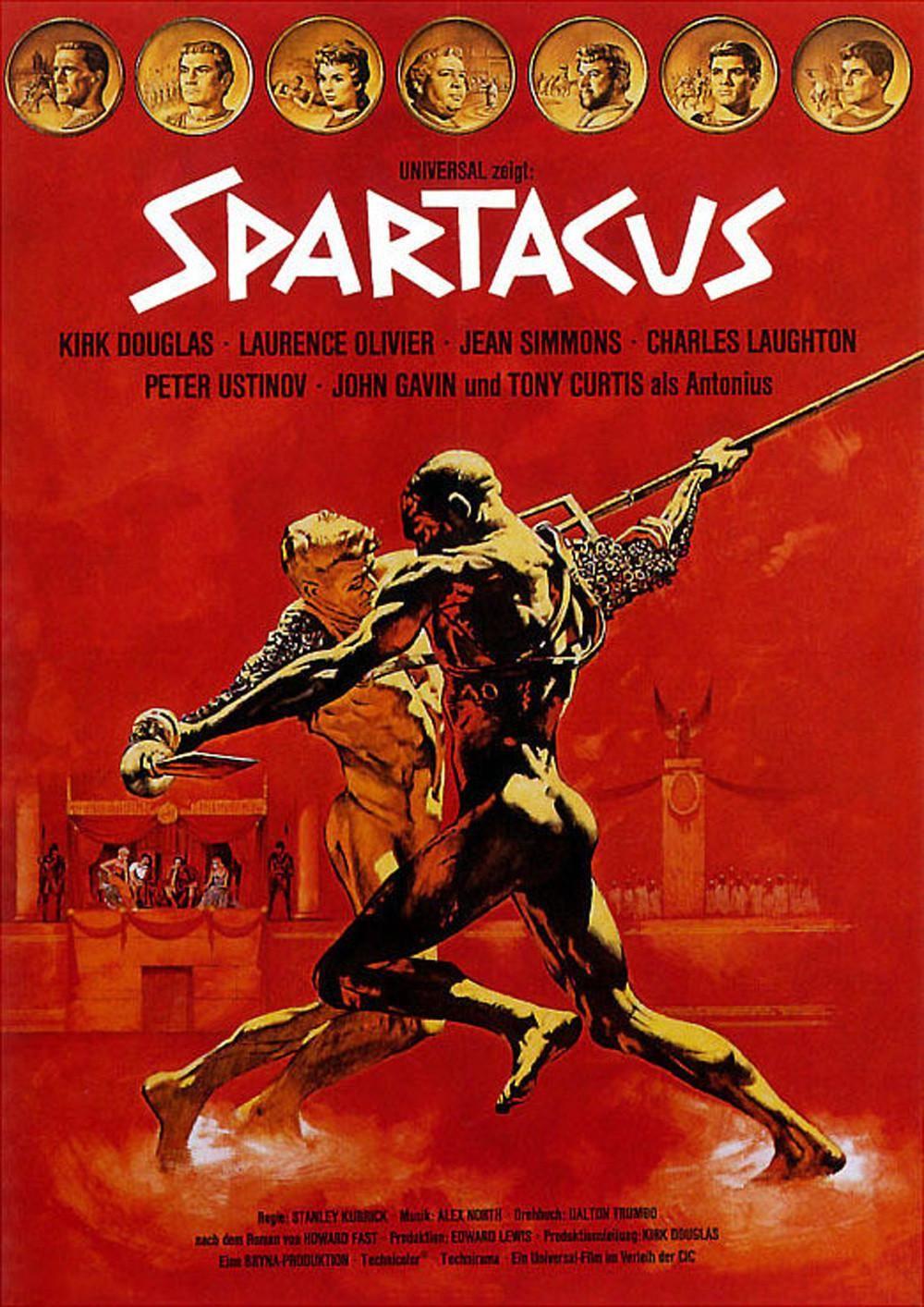 Filme Spartacus with regard to espartaco (spartacus, 1960, stanley kubrick)   posters   pinterest