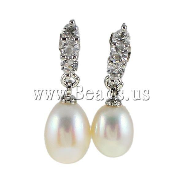 1b55cae9d21f Encontrar Más Pendientes Largos Información acerca de Envío gratis! perlas  de agua dulce