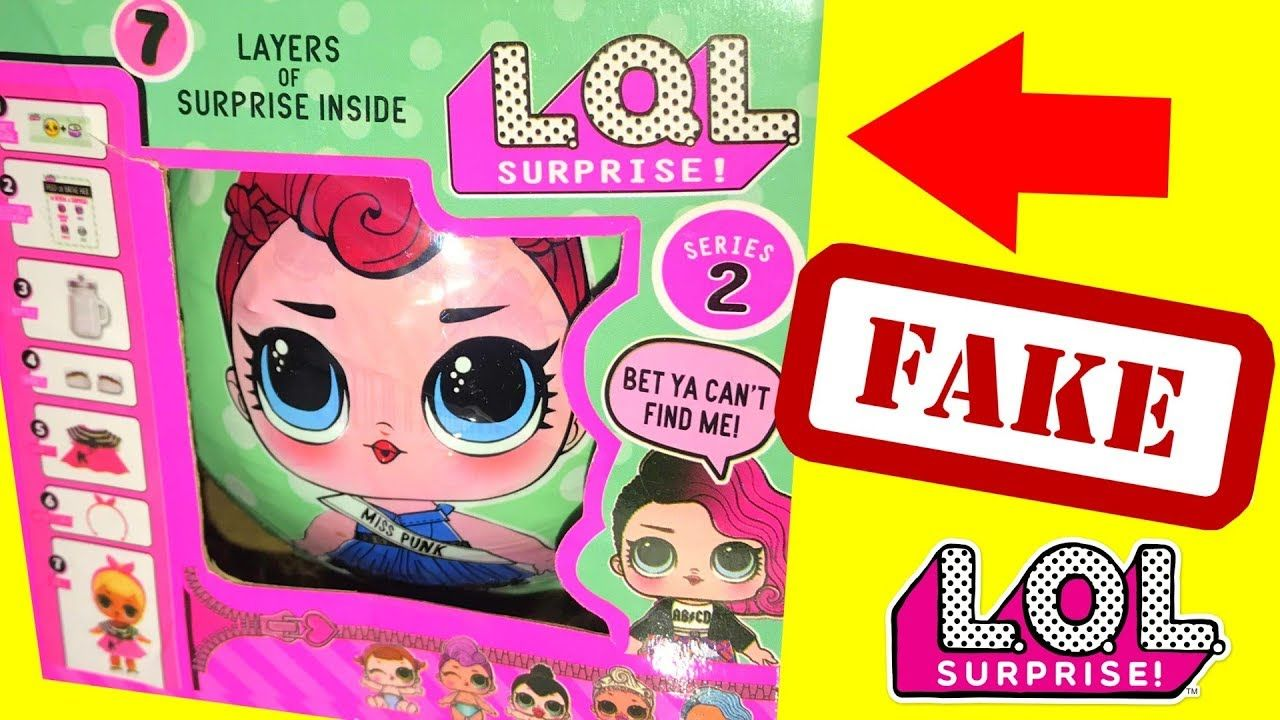 FAKE LOL Surprise DOLLS Video , LQL DOLL VS LOL Doll