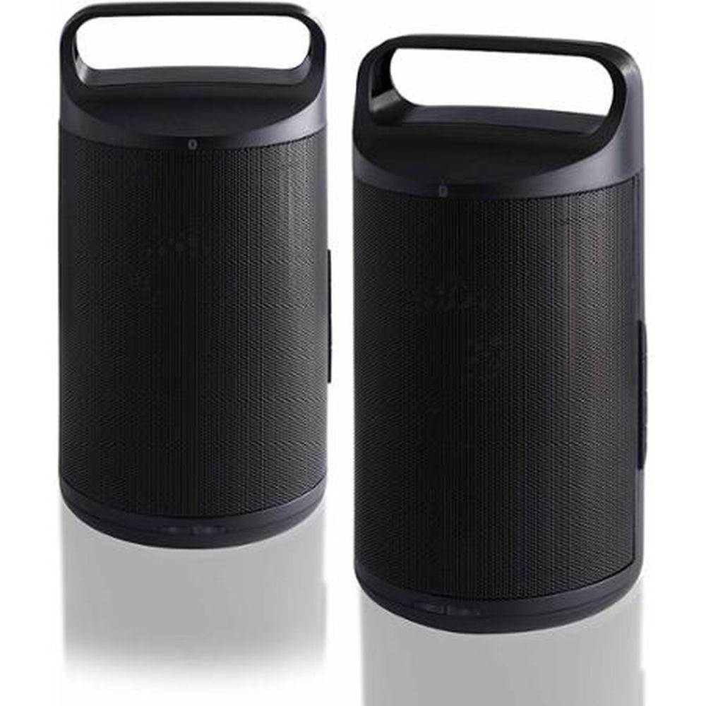 Blackweb RIFT Portable Wireless Bluetooth Speakers Set Of 2   Bluetooth  Music