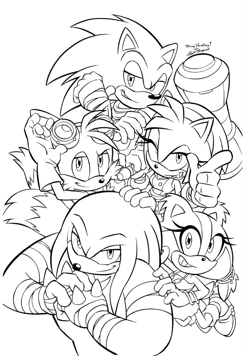 Pin On Sonic Comic Styles And Poses