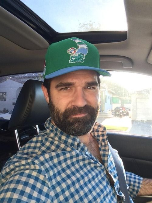 ea788864ead Beard and baseball cap