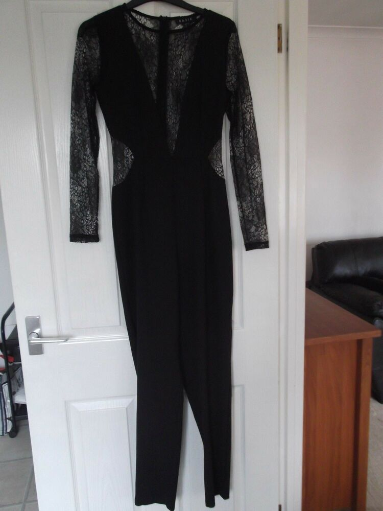 c14aa6bd1e Basik Black Jumpsuit Size 6 Excellent Condition  fashion  clothing  shoes   accessories  womensclothing  jumpsuitsrompers (ebay link)